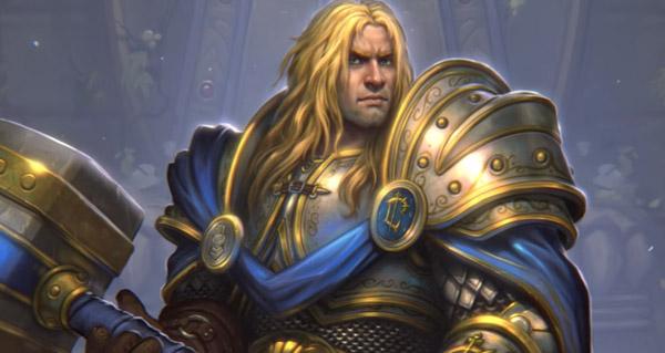 nouveau heros alternatif paladin : prince arthas