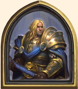 Héros Hearthstone - Prince Arthas
