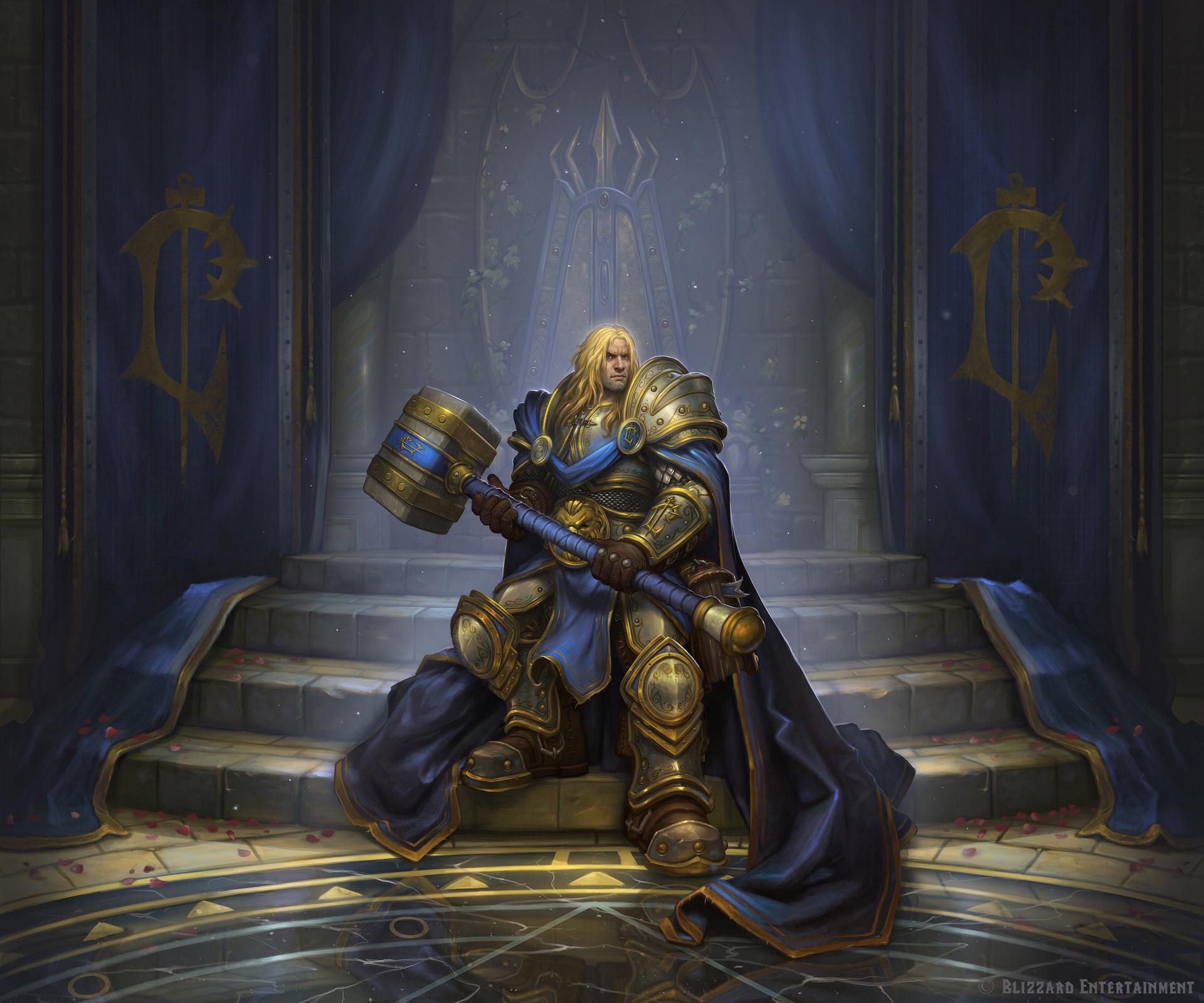 Le Prince Arthas Menethil, prochain héros alternatif Paladin