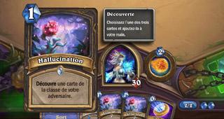 Carte Hallucination proposée dans le deck prédéfini