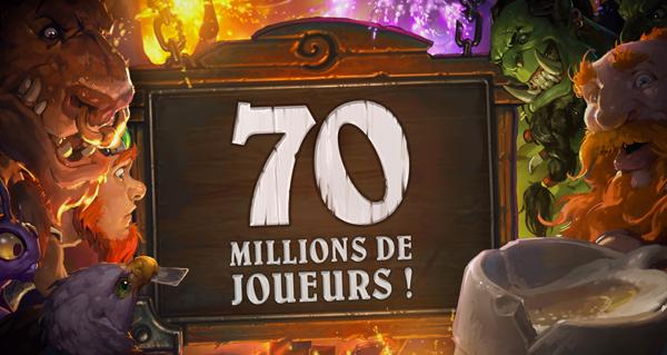 hearthstone : 70 millions de joueurs et 3 paquets de cartes un'goro