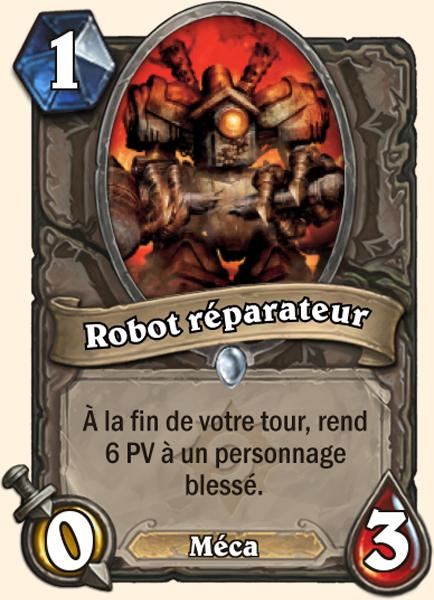 Robot réparateur
