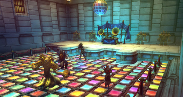les themes d'une nuit a karazhan repris dans world of warcraft