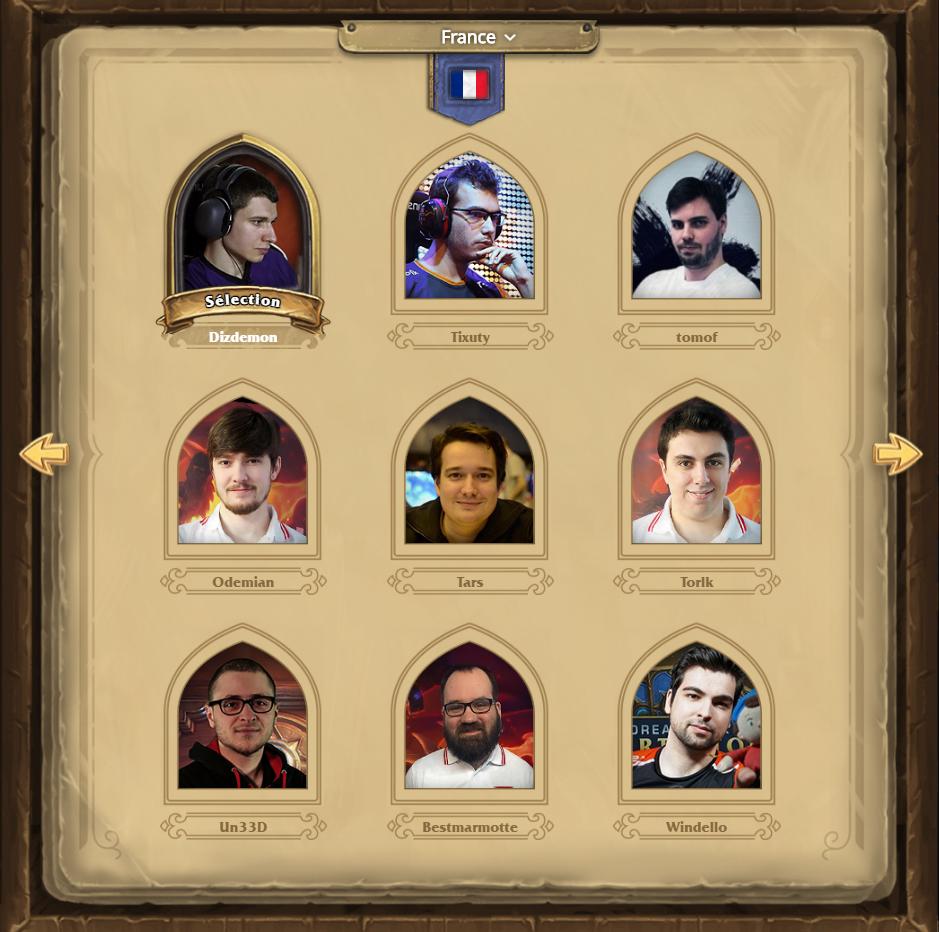 Hearthstone Global Game : votez pour un joueur français