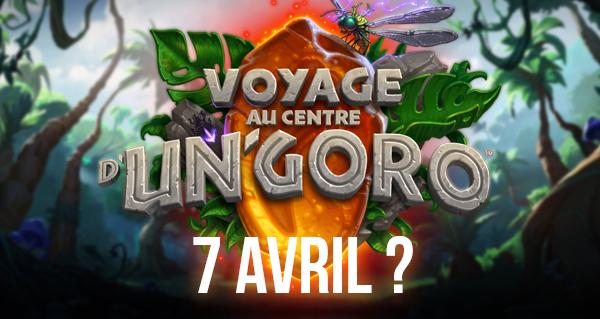 voyage au centre d'un'goro : sortie le 7 avril ?