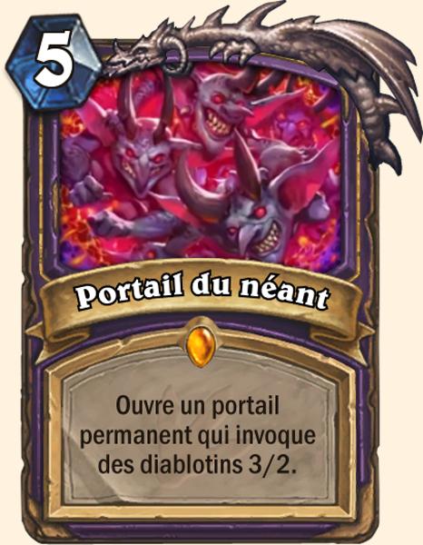 Carte Portail du Néant
