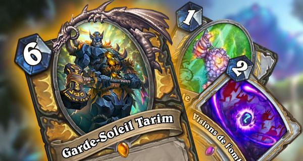 trois nouvelles cartes un'goro dont la legendaire paladin