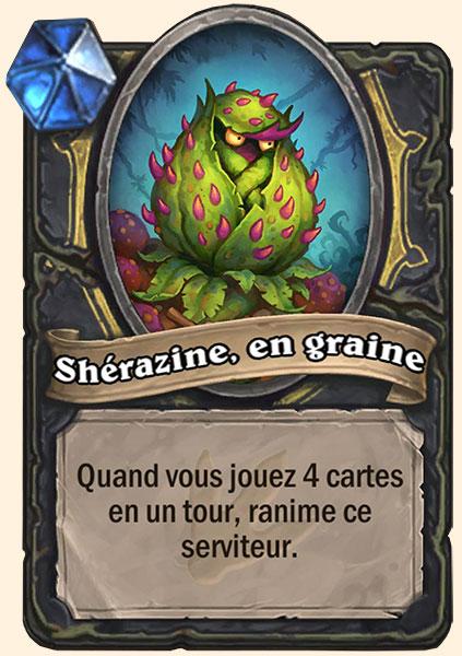 Carte Sherazine en Graine Hearthstone