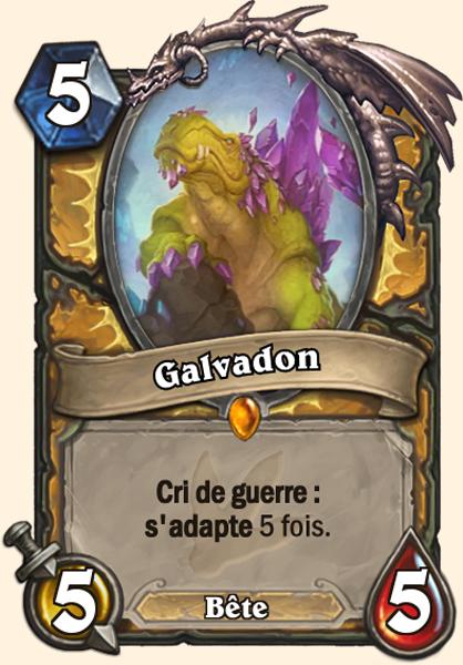 Carte Galvadon, récompense de la quête Paladin