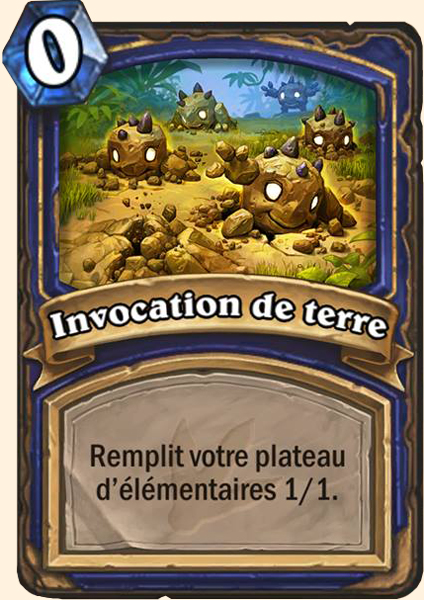 invocation terre hearthstone