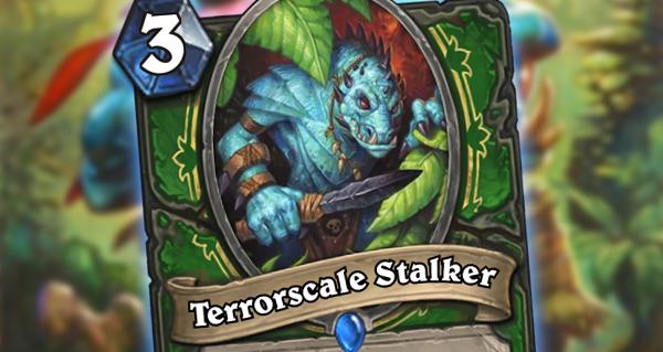 un'goro : carte chasseur terrorscale stalker