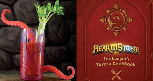 livre de cuisine officiel hearthstone : sortie mondiale prevue le 7 novembre