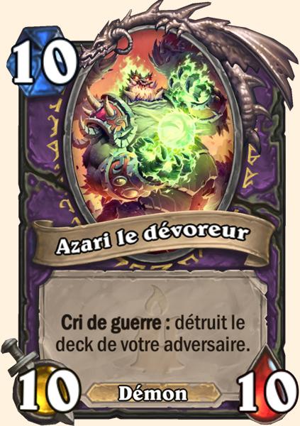 Carte Hearthstone - Azari, le Dévoreur