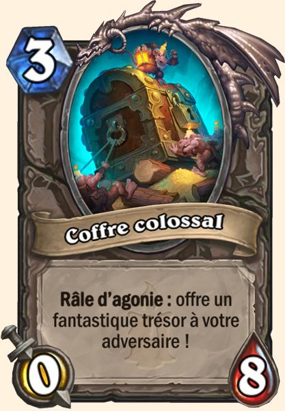 Carte Hearthstone - Coffre colossal