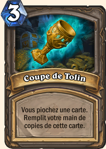 Carte Hearthstone - Coupe de Tolin
