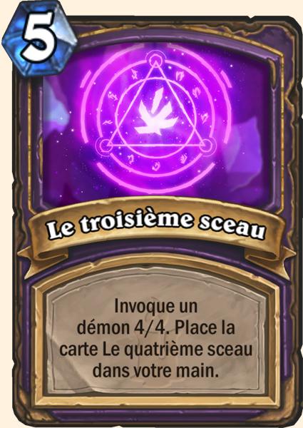 Carte Hearthstone - Sceau