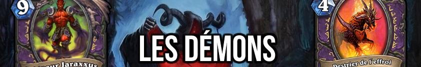 liste des cartes demon dans hearthstone