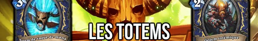 liste des cartes totem dans hearthstone