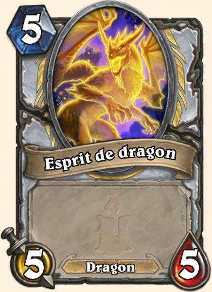 Carte Hearthstone - Esprit de dragon