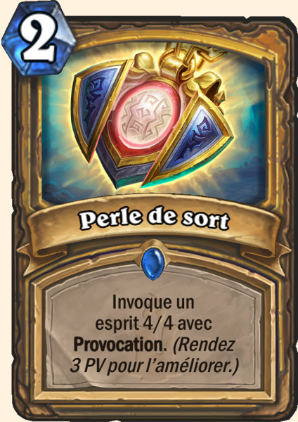 Carte Hearthstone - Perle de sort