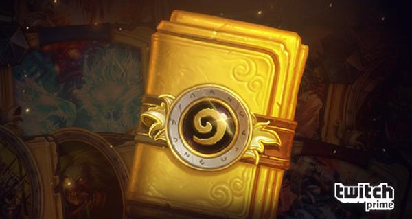 twitch prime : obtenez un paquet de cartes classique entierement dorees