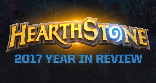 hearthstone : review de l'annee 2017