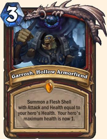 Carte Hearthstone concept Chevalier de la mort