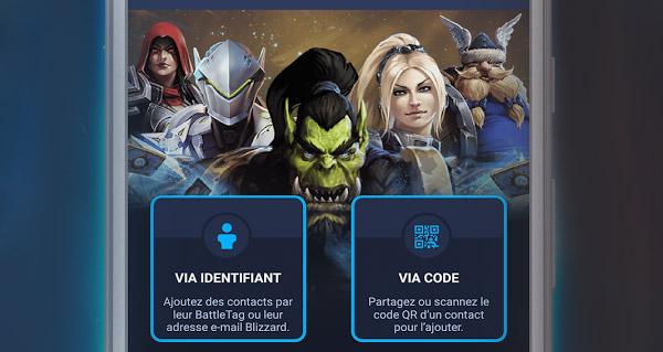 blizzard battle.net : la nouvelle application pour rester en contact avec vos amis