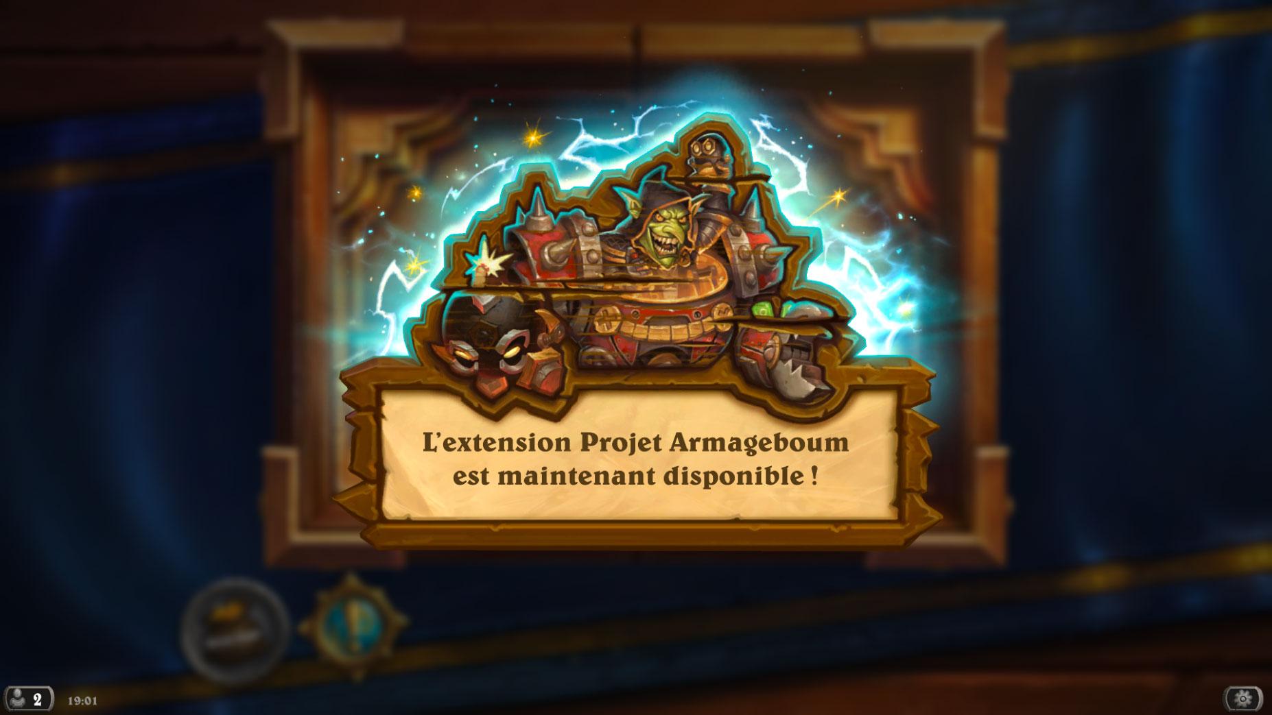 L'extension Armageboum est officiellement sortie !