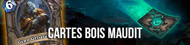 Les 135 nouvelles cartes du Bois Maudit