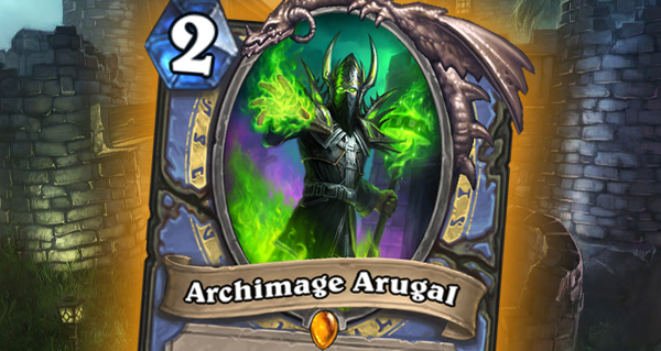 bois maudit : archimage arugal, legendaire mage
