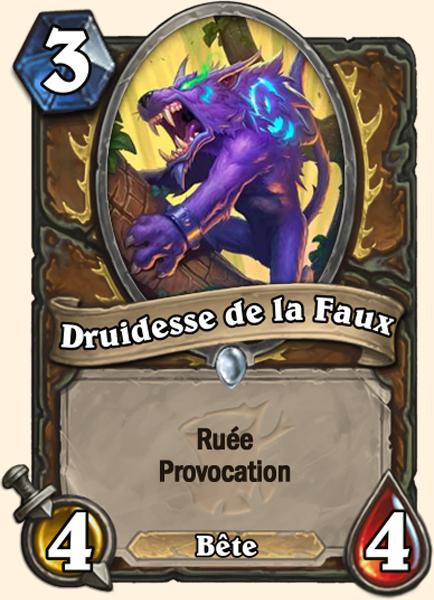 Druidesse de la Faux