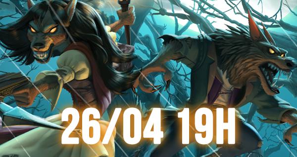 chasse aux monstres : sortie du mode de jeu le 26/04 a 19h