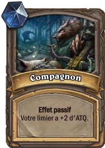 Carte Hearthstone - Compagnon