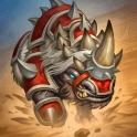 Carte Akali, le rhinocéros