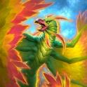 Carte Jan'alai, le faucon-dragon