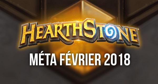 hearthstone : meilleurs decks de la meta fevrier 2018