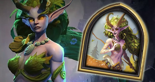 nouveau heros druide : lunara, fille de cenarius