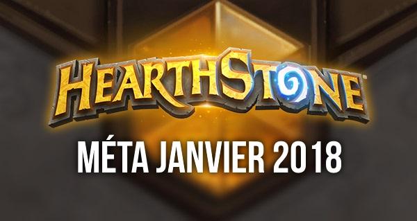 hearthstone : meilleurs decks de la meta janvier 2017