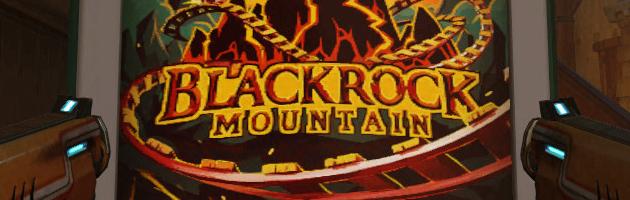 Affiche des montagnes russes Mont Rochenoire