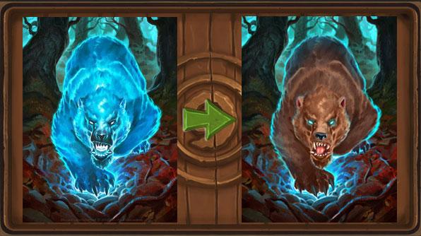 Changement d'artwork pour le Grizzly du Bois Maudit