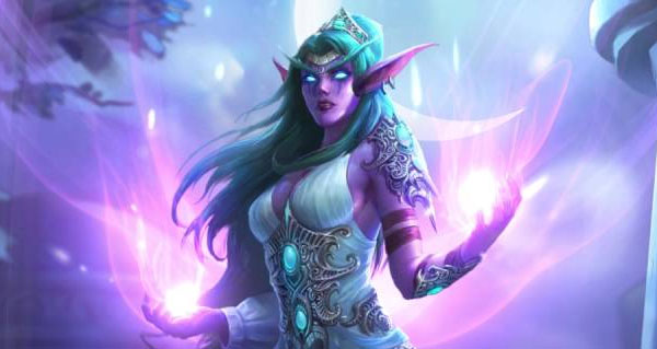 hearthstone : heros alternatif tyrande, l'equilibrage et les illustrations