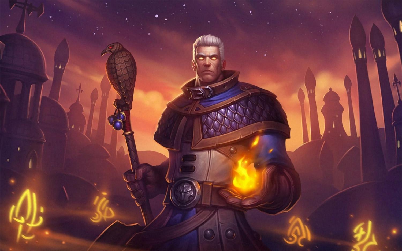 Khadgar est un héros alternatif pour le Mage dans Hearthstone