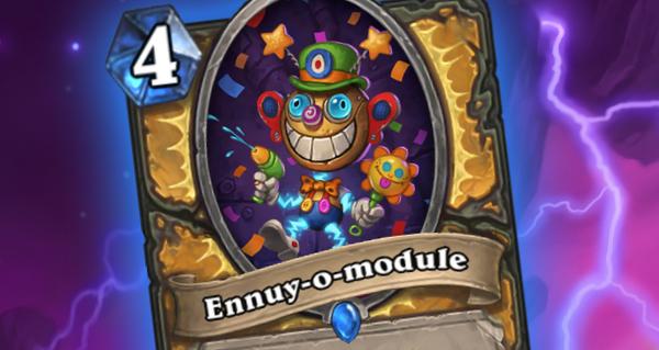 ennuy-o-module : nouvelle carte pour paladin d'armageboum