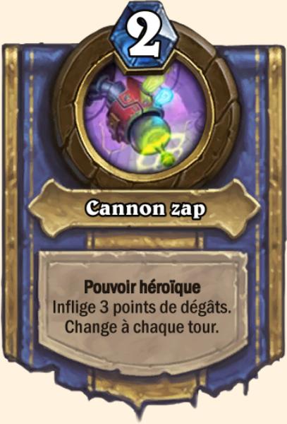 Cannon zap