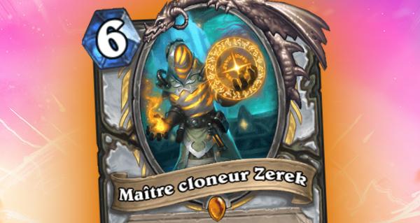 armageboum : zerek, maitre cloneur, carte legendaire pretre