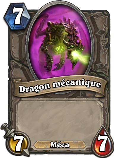 Carte Hearthstone Dragon mécanique (Armageboum)