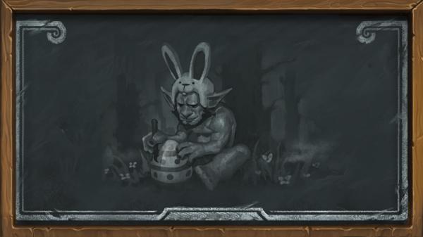 Décorez des œufs avec des cartes inédites dans le bras de fer Lapin, lapin  !
