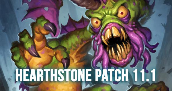 patch 11.1 hearthstone : toutes les infos sur la mise a jour