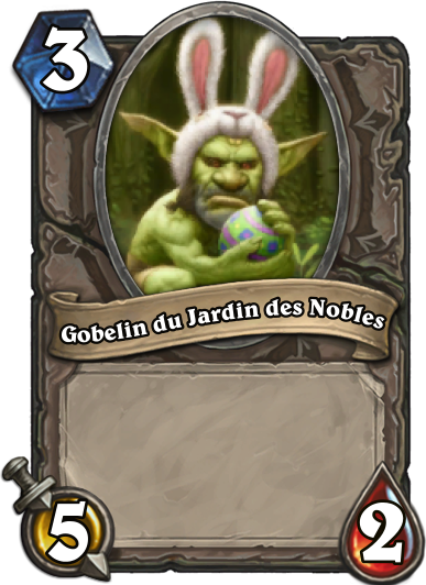 Carte Hearthstone - Gobelin du Jardin des Nobles